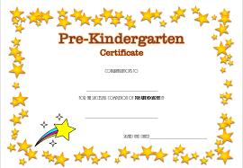 kindergarten certificates pre kindergarten diploma certificate 4 professional and high