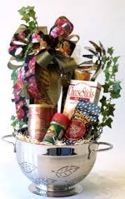italian gift baskets italian feast colander gift basket