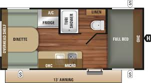 travel trailer floor plan 2018 autumn ridge outfitter 17rd