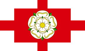 Flag White With Red Cross North Riding Flag U2013 Voting Final Week Andy Strangeway