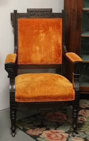 Victorian Upholstered Chair Found In Ithaca Eastlake Victorian Upholstered Chair
