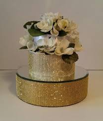 gold cake stands gold cake stand cake riser 14 inch gold bling cake stand