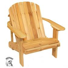 Western Red Cedar Outdoor Furniture by Phat Tommy Wide Western Red Cedar Adirondack Chair Free Shipping
