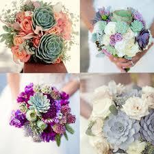 succulent bouquet hot wedding trend succulent bouquets essense designs
