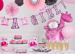 it s a girl baby shower ideas baby shower ideas baby shower party ideas party city party city