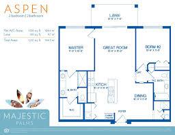 floor plans for fort myers majestic palms condominiums near the aspen floor plan