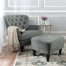 oversized fabric chair with ottoman blue oversized chair and ottoman historicthomaswv com