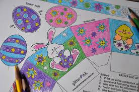easter basket templates for kids printable u2013 happy easter 2017