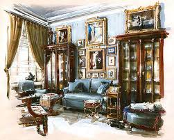 Interior Sketch by 225 Best Interior Sketches And Drawings Images On Pinterest