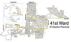 40th ward chicago map 38th ward northwest side chicago gop club new more