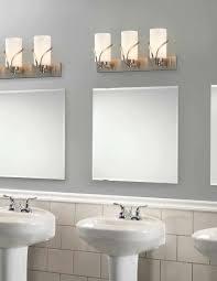 Bathroom Lighting Lowes Bathrooms Design Fixtures Brushed Nickel Good Bathroom Lamps