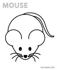 coloring cool coloring mouse fabulous pages printable