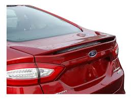 amazon com ford fusion spoiler painted in the factory paint code