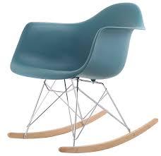 chaise bascule eames hnnhome eames inspired rar lounge retro rocker rocking chair leisure