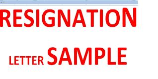 Resignations Letter Template Resignation Letter Sample Youtube