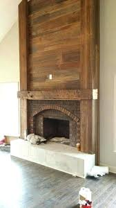 fireplace cover up fireplace cover ideas how to cover brick fireplace with wood white