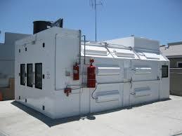 Spray Booth Ventilation System Automotive Semi Downdraft Spray Paint Booths Spray Booths Nw
