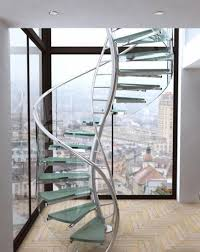 Glass Staircase Design 15 Stunning Glass Spiral Staircase Designs That You Shouldn U0027t Miss