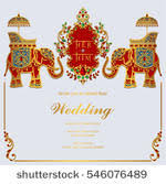 indian wedding card templates indian wedding card free vector 16957 free downloads