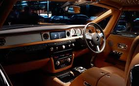 luxury cars inside quality rolls royce phantom widescreen wallpapers