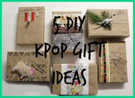 christmas craft ideas for gifts kpop gift guide regalos para fans