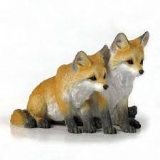 fox figurines artworks