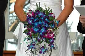 blue and purple orchids blue orchids archives bouquet wedding flower