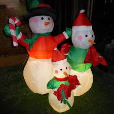 Lighted Christmas Decorations by Inflatable Outdoor Christmas Decorations Simple Outdoor Com