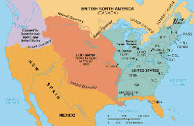 usa map louisiana purchase louisiana purchase westward ho american history for