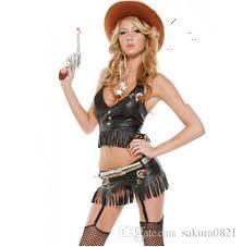 west cowboy black pu faux leather bodysuit texas tom