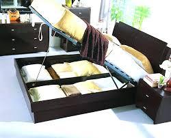 Platform Bed With Storage Underneath Bed With Storage Hcandersenworld