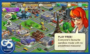 Andriod Games Room - virtual city playground free download for android android games room