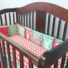 Crib Bedding Uk Pink And Gray Chevron Crib Bedding Sets Baby Elephant Set