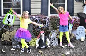 Halloween Neon Costume Easy Diy 80s Halloween Costume