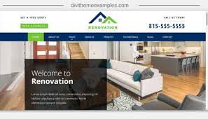 renovation theme renovation divi child theme divi theme exles