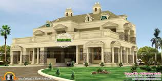 Contemporary Colonial House Plans October 2015 Kerala Home Design And Floor Plans