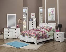 amazon com sandberg furniture sparkling hearts bedroom set full