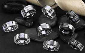 manly wedding bands wedding bands groomsadvice