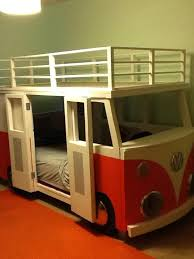 i built this for dane our 3 year old vw bus bunk bed projects