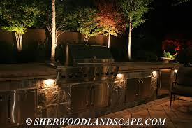 lighting for outdoor living spaces michigan outdoor lighting company