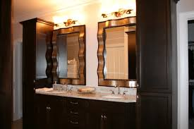 Bathroom Counter Storage Tower Furniture Captivating Double Vanity With Storage Bathroom