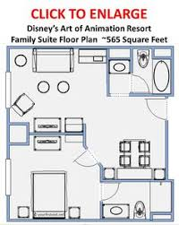 family suites at disney s art of animation resort a review disney world hotel options for larger families shown the art of