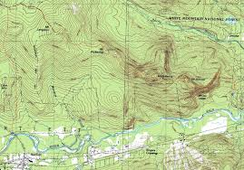 Topographic Map Of Washington by Mt Stanton Mt Pickering Mt Langdon New Hampshire November