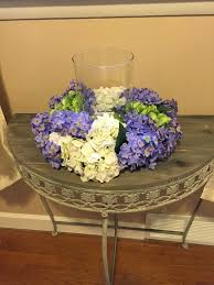 silk decor home accents floral centerpiece hydrangeas and lilacs centerpiece spring
