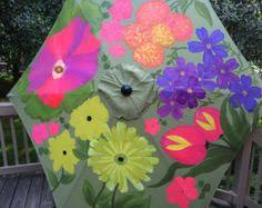 Patterned Patio Umbrellas Diy Painted Pattern Patio Umbrella Painted Patterns Patio