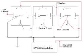 backup battery relay wiring