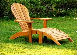 gotta love a chair that forces you to relax teak adirondack chair