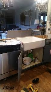 How To Remove A Kitchen Countertop - farmhouse sink tips for your kitchen installation