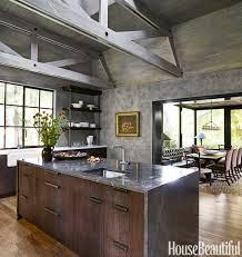 kitchen rustic modern 2017 kitchen design ideas throughout