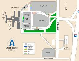 akron canton airport parking